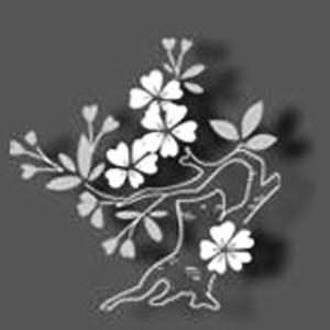日本刺繍の飾り紋