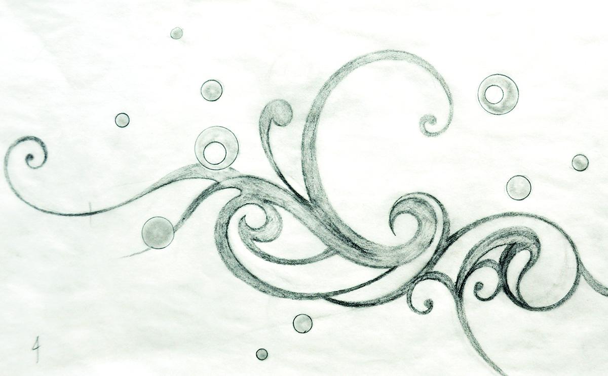日本刺繍のデザイン