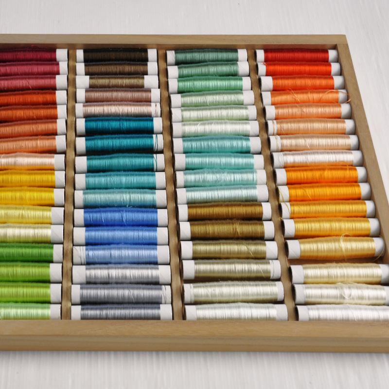日本刺繍の糸収納