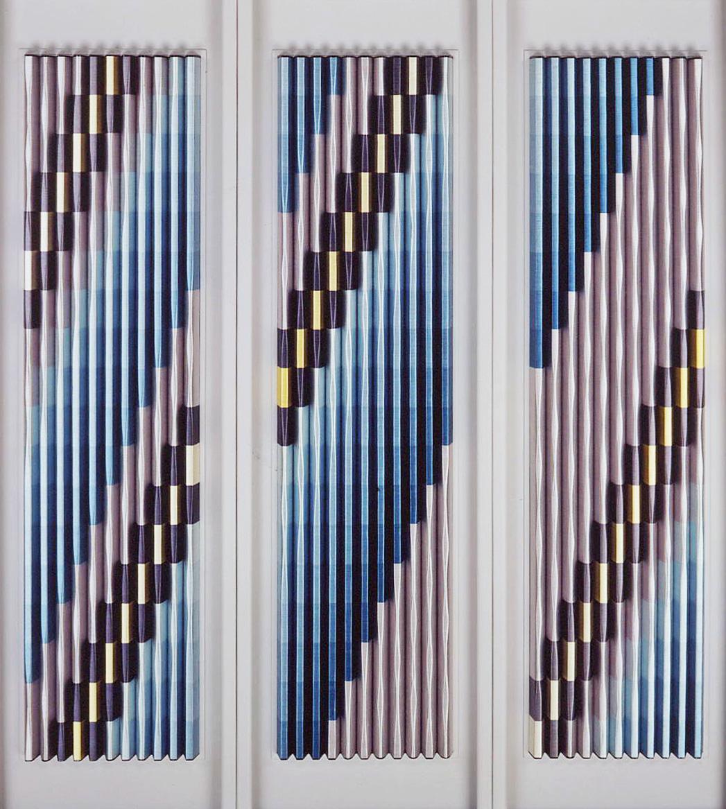 日本刺繍を使った平面造形